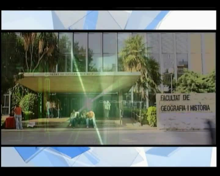 Image of the cover of the video;Faculty of Geography and History