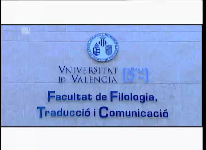 Image of the cover of the video;Facultat de Filologia, Traducció i Comunicació