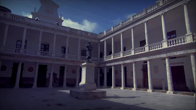 Image of the cover of the video;La Universitat de València