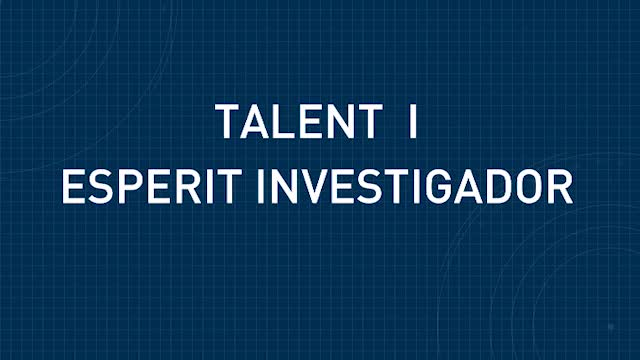 Imatge de la portada del video;Universitat i Societat: El talent i l'esperit investigador