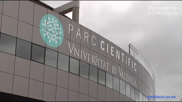Image of the cover of the video;The Parc Científic is celebrating its fifth anniversary