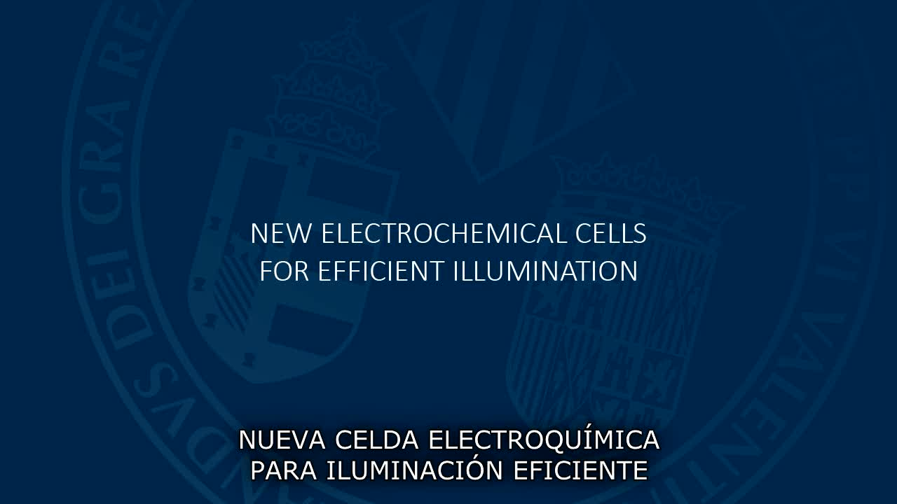 Image of the cover of the video;Nova cel·la electroquímica per a il·luminació eficient