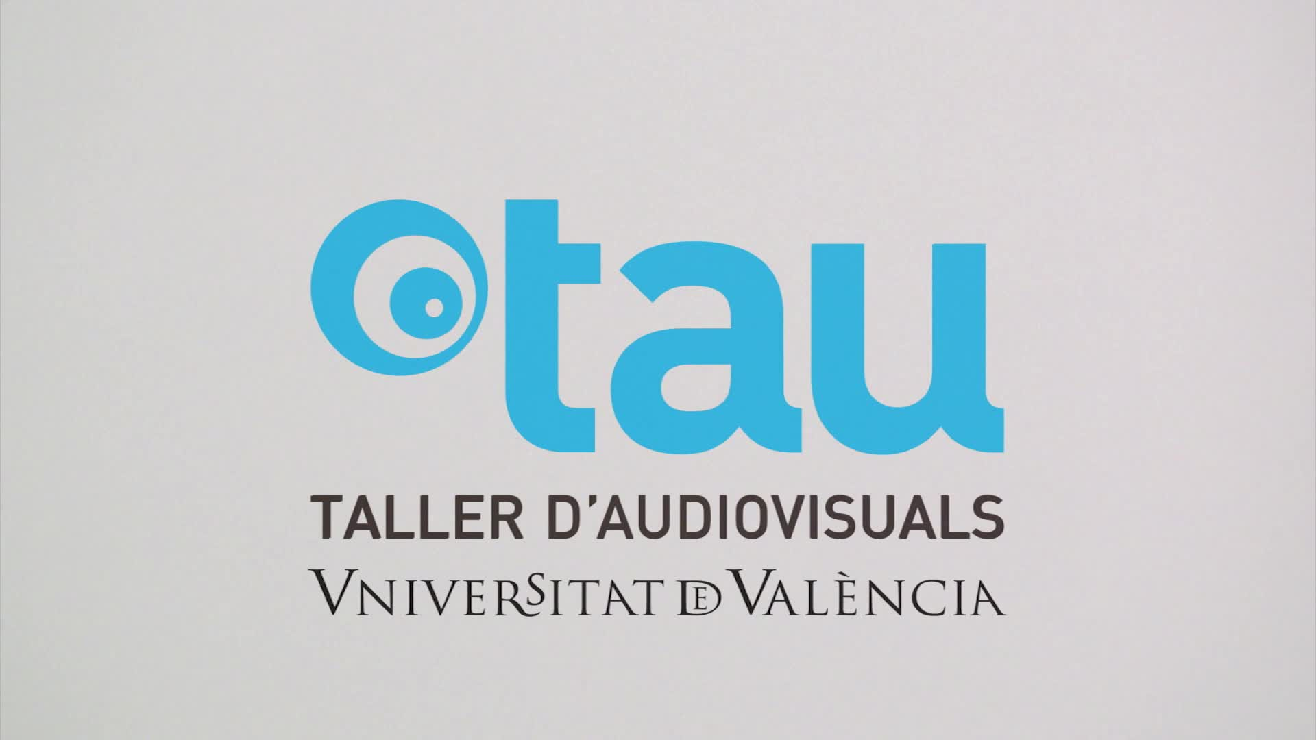 Image of the cover of the video;Taller d'Audiovisuals UVEG